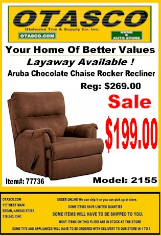 Recliner Sale Starting at $199.00