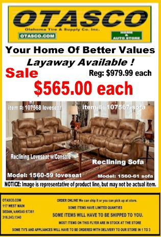 Flyer Living Room Sales