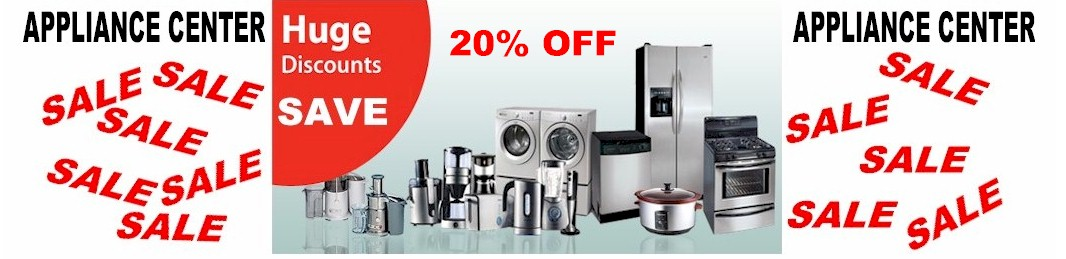20% OFF Appliance Sale